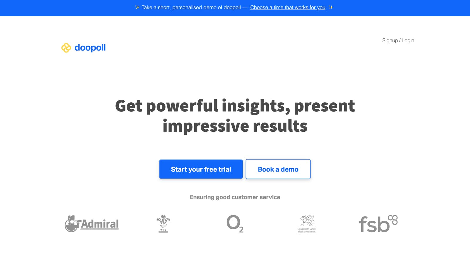 Pre-growth landing page copy