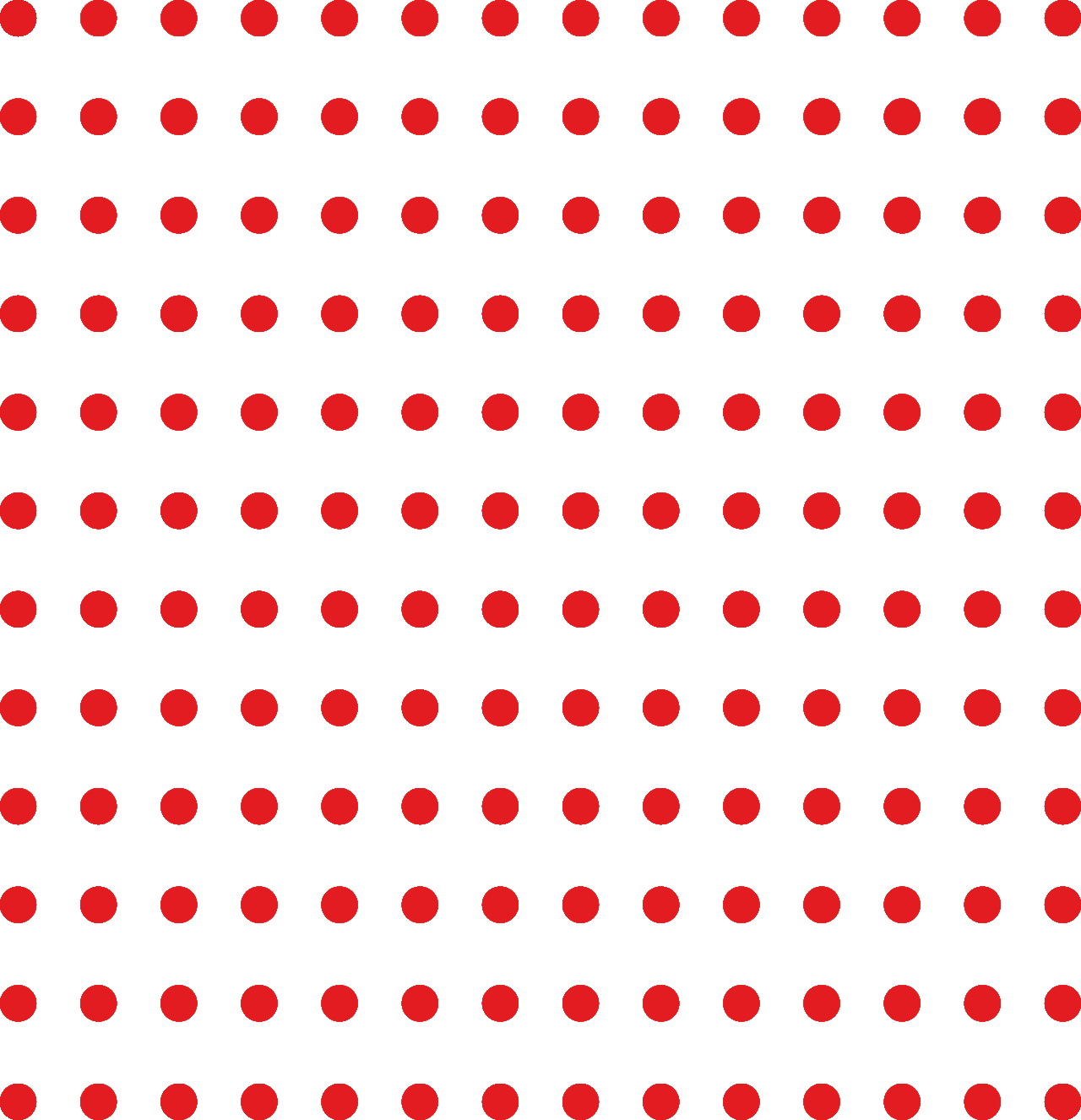 Orange Dot Pattern