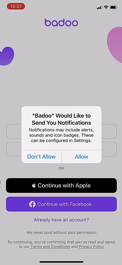 Notification sound badoo Notification sound