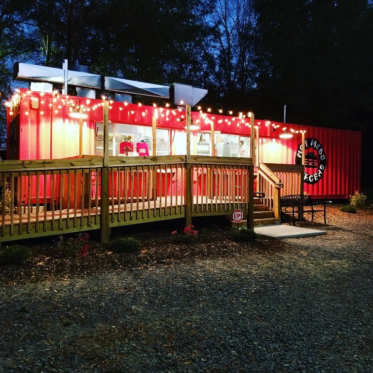 40FT shipping container kitchen