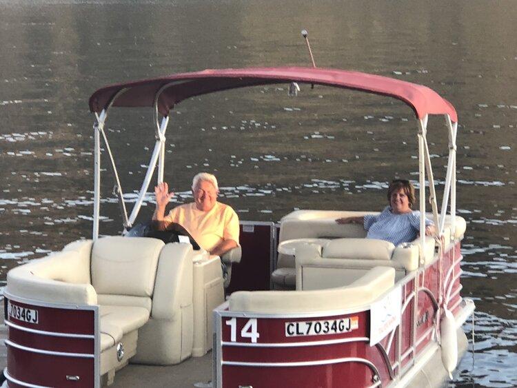 Enjoying the open waters!