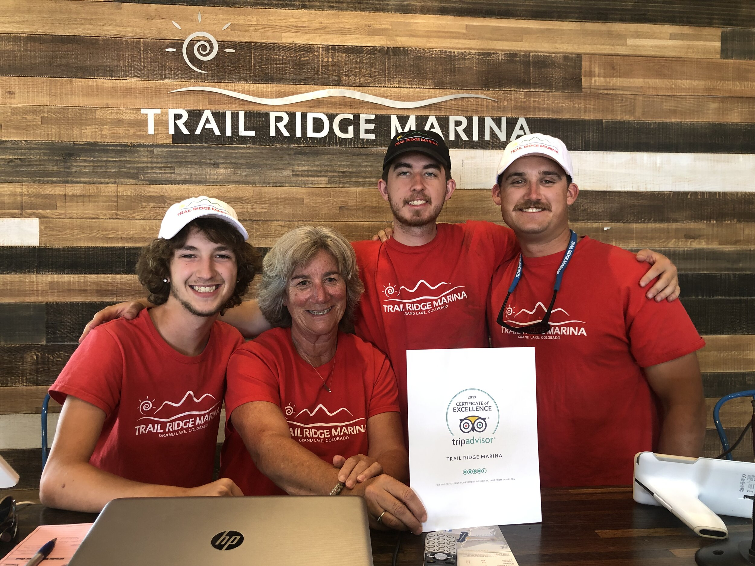 Proud of our 2019 TRM Trip Advisor Award!