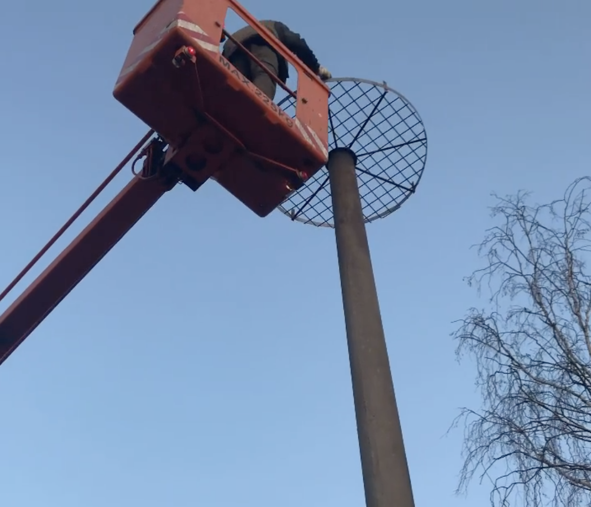 Čapí hnízdo prochází  nutnou rekonstrukcí...než přiletí první nájemník tak bude hotovo👍