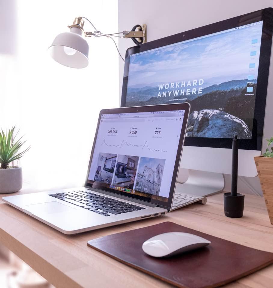 webseiten layout auf verschiedenen devices