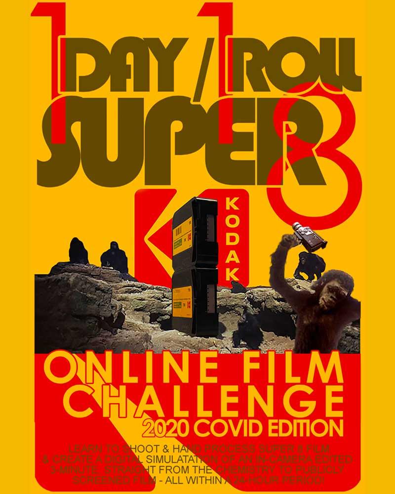 Super 8 film Challenge poster