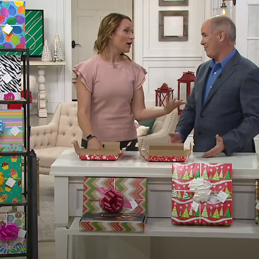 ReadyWrap gift boxes appear on QVC