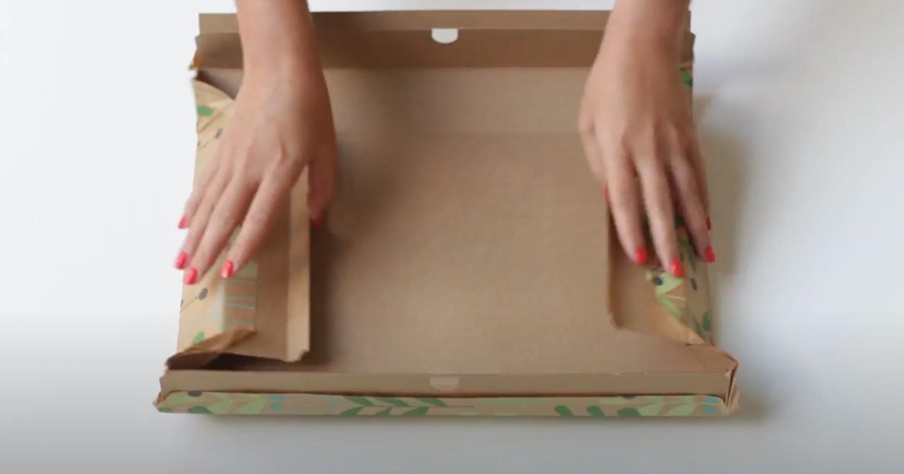 ReadyWrap gift box folding instructions