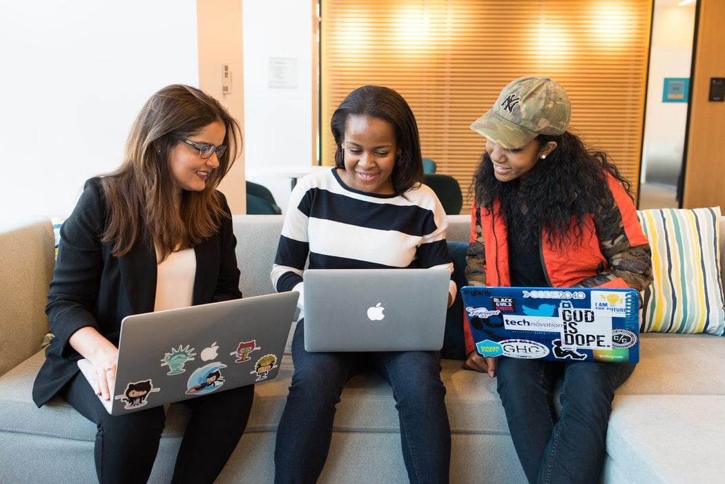 workplace, team, diverse team