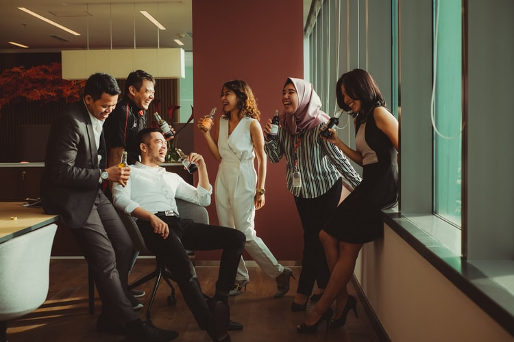 workplace diversity, office, business