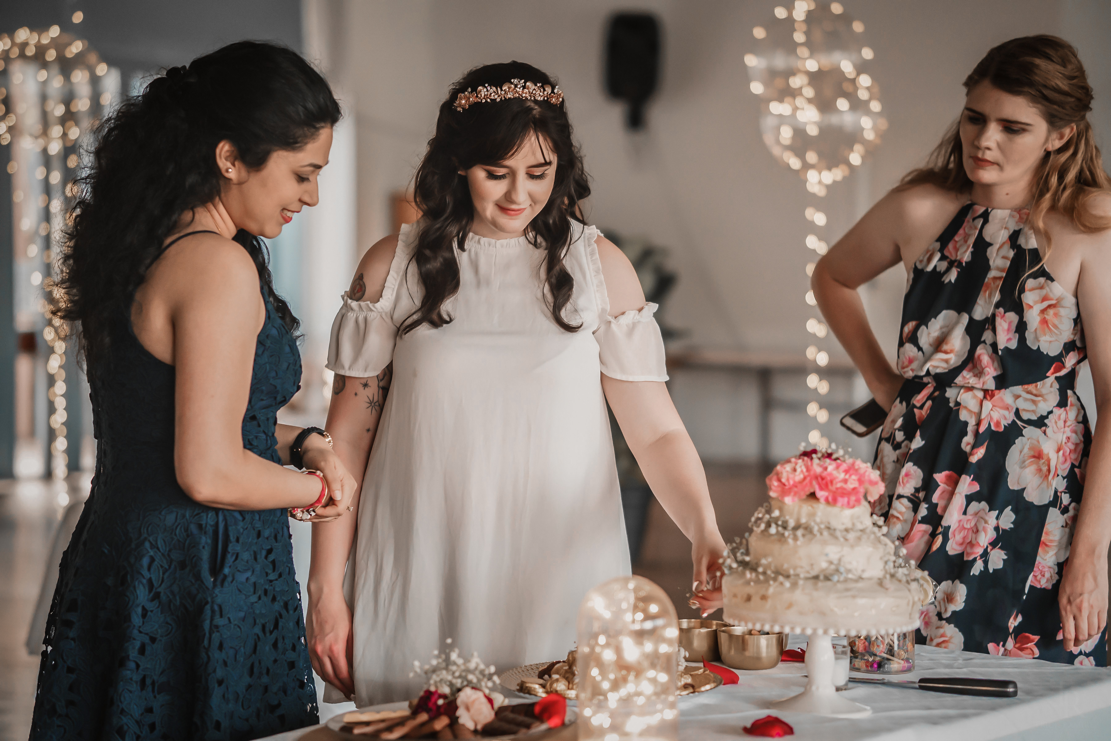 Diamante Wedding Events with Bride