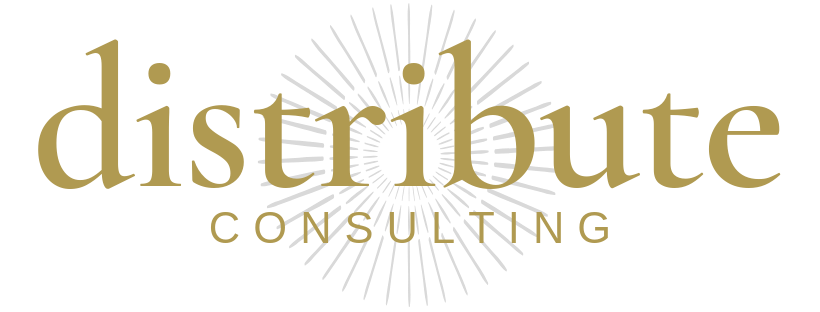 The logo for Distribute Consulting.