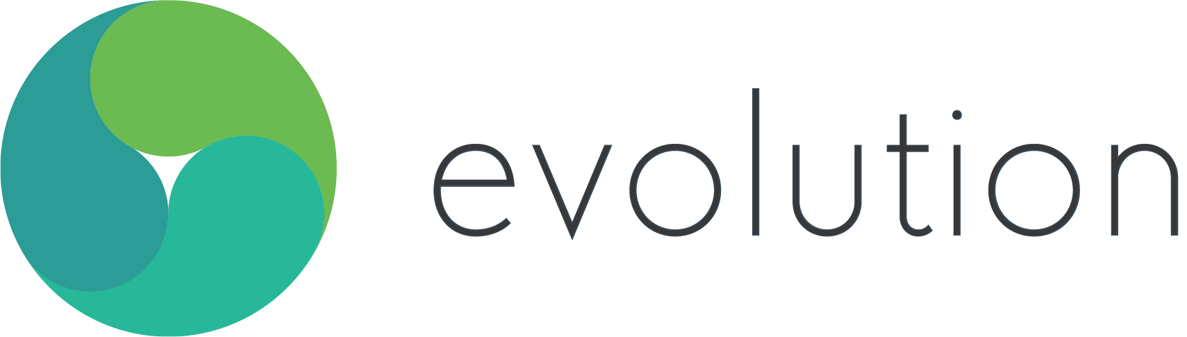 The logo for Evolution Coaching.