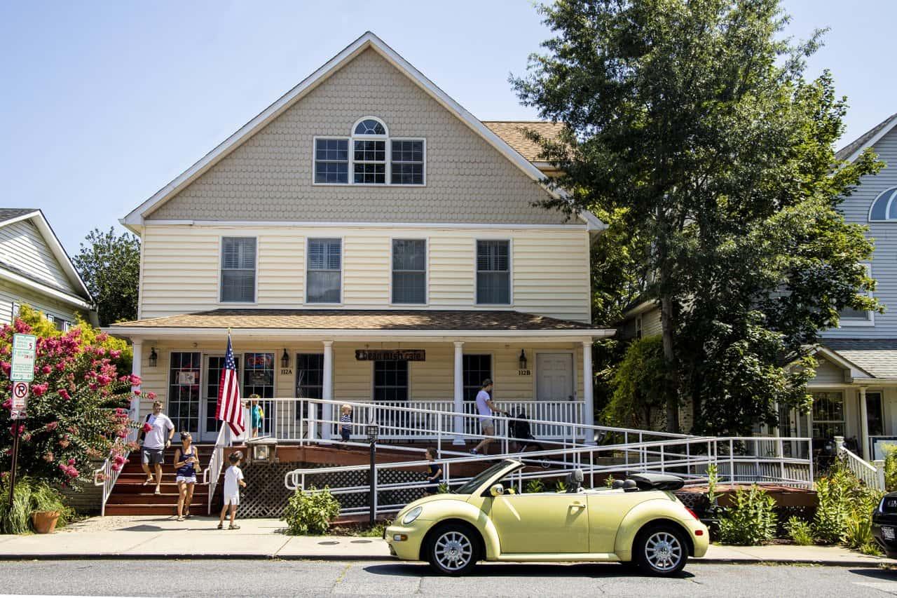bean rush coffee shop in Annapolis