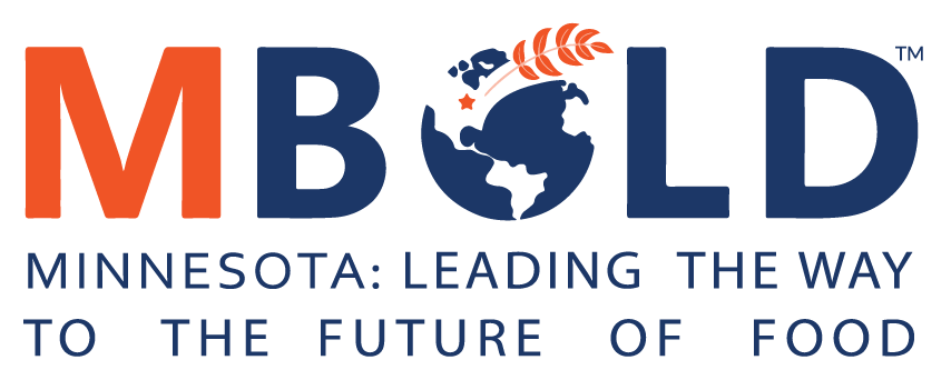 MBOLD logo with tagline Minnesota Leading the Way to the Future of Food.