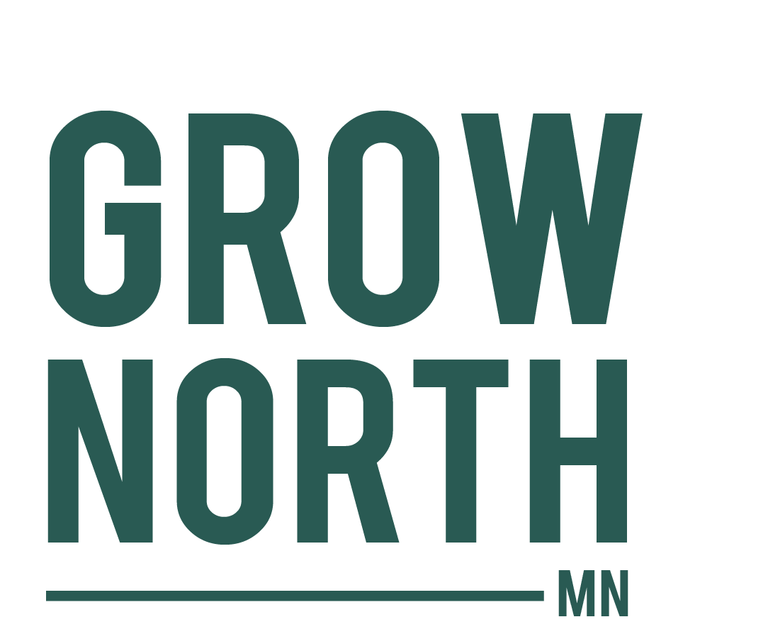 Grow North logo.