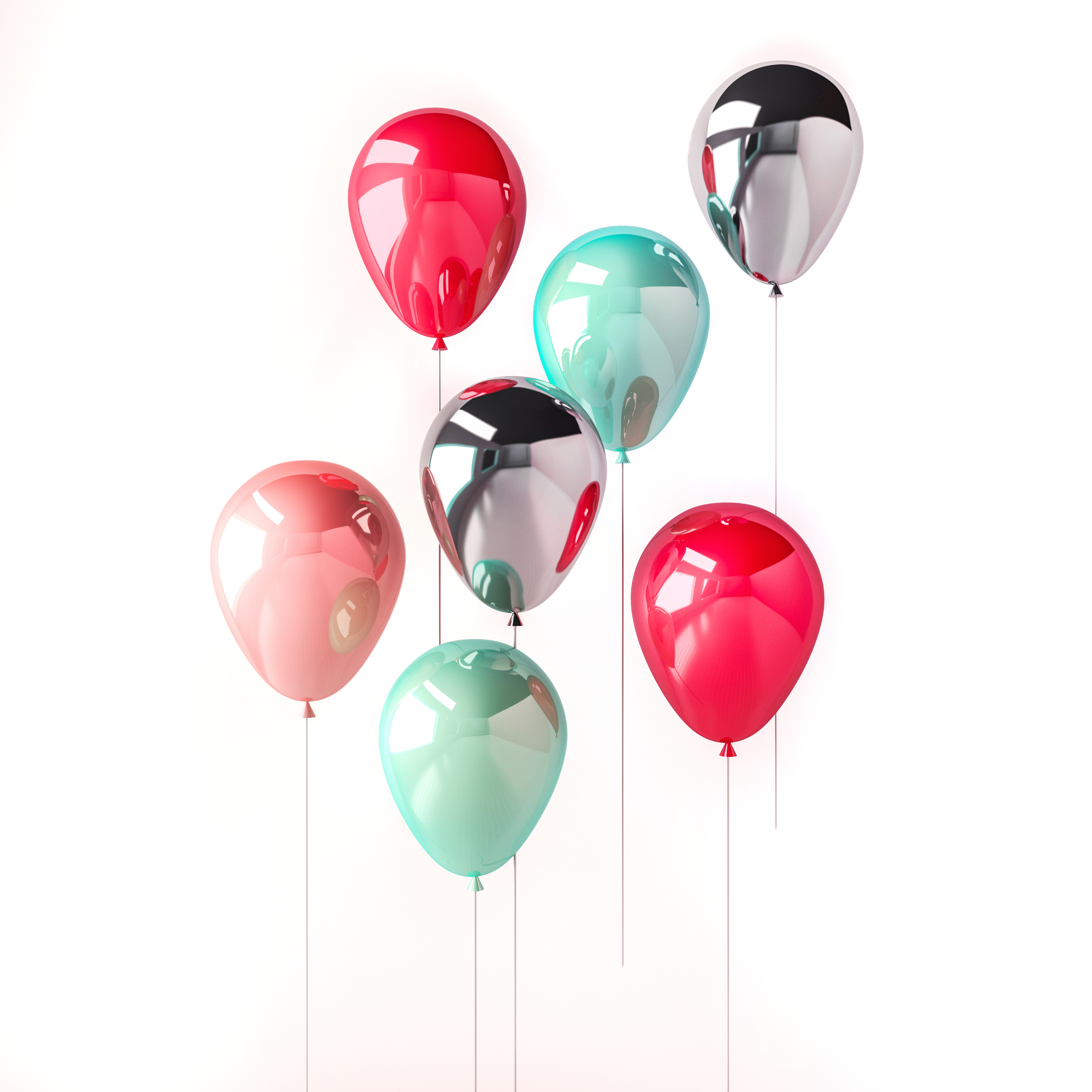 Photo of colorful ballons