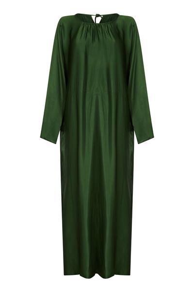 Rhodes Satin Maxi Dress