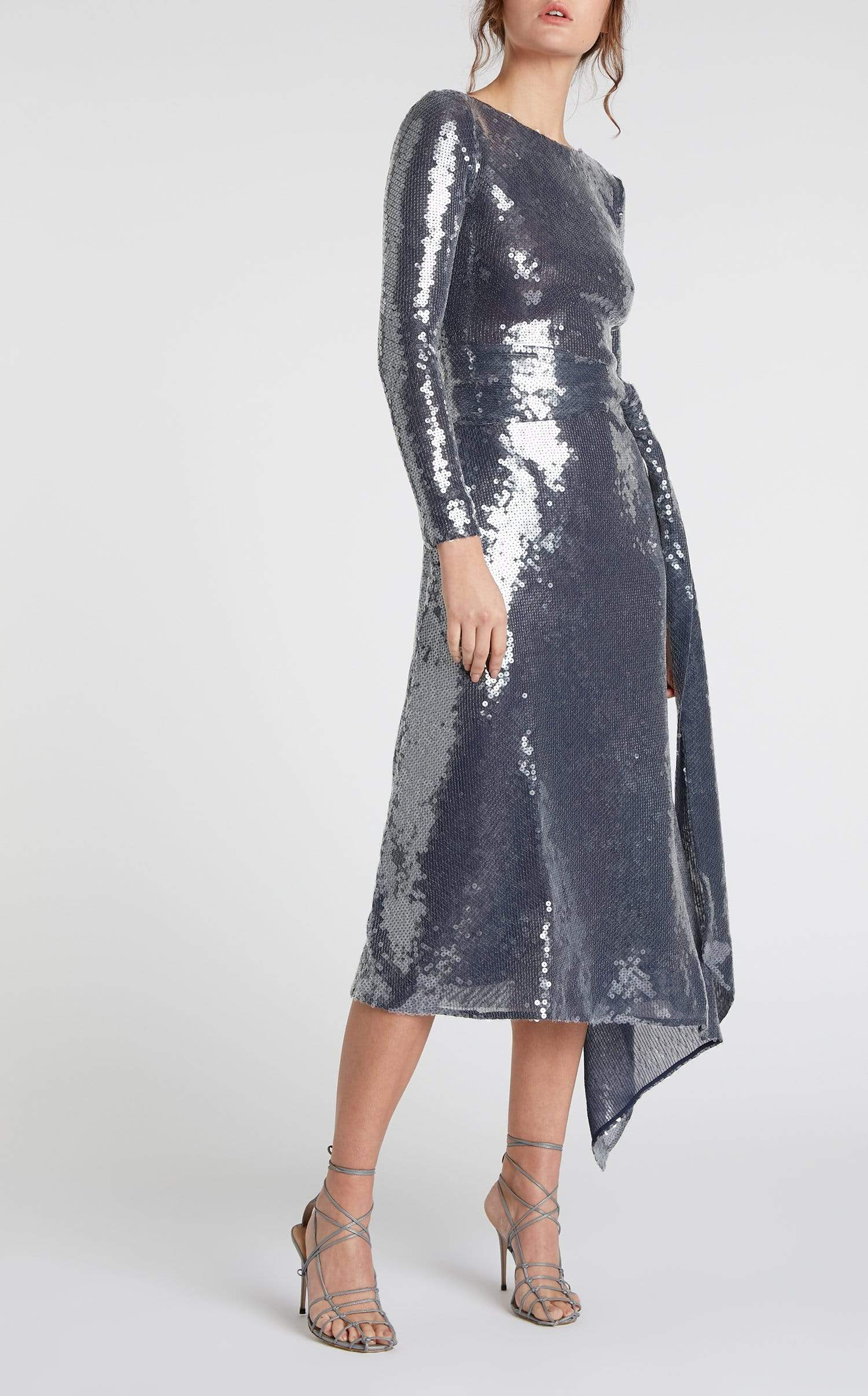 Angelo Midi Sequin Dress