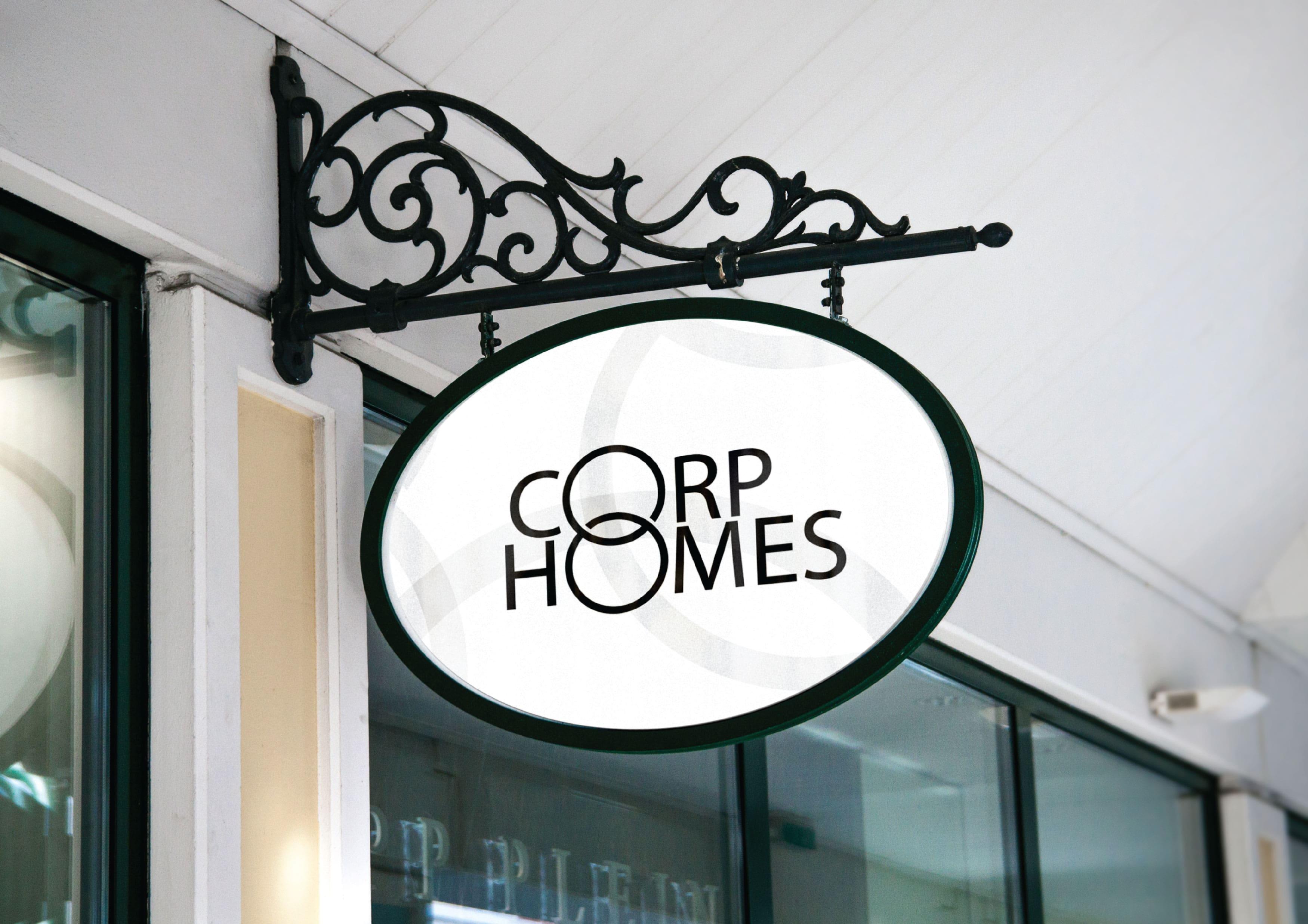 CorpHome Logo Mockuo