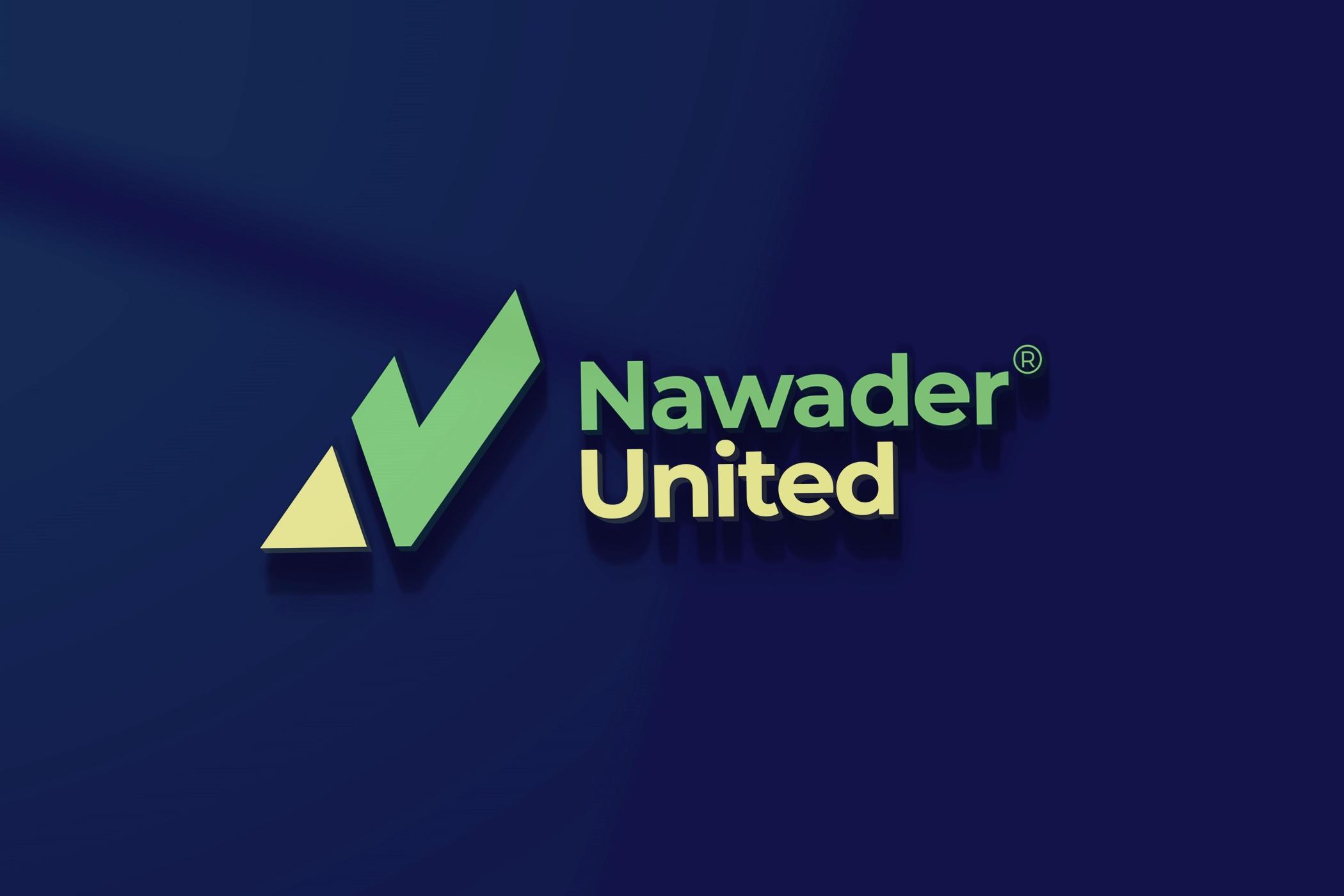 Nawader United Logo Mockup