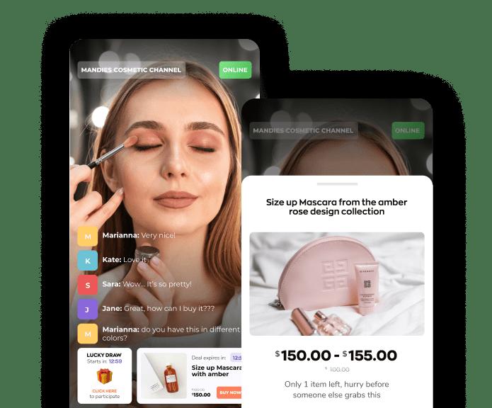 live shopping app flux panda