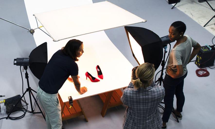 shoppable video shoot editing