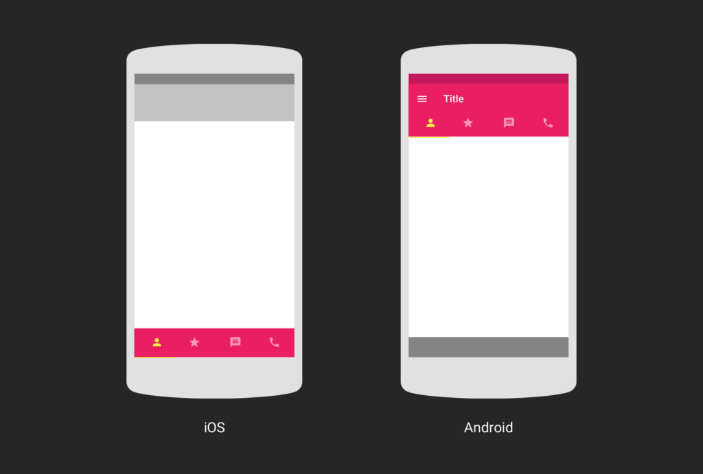 Google-Design-iOS-Android