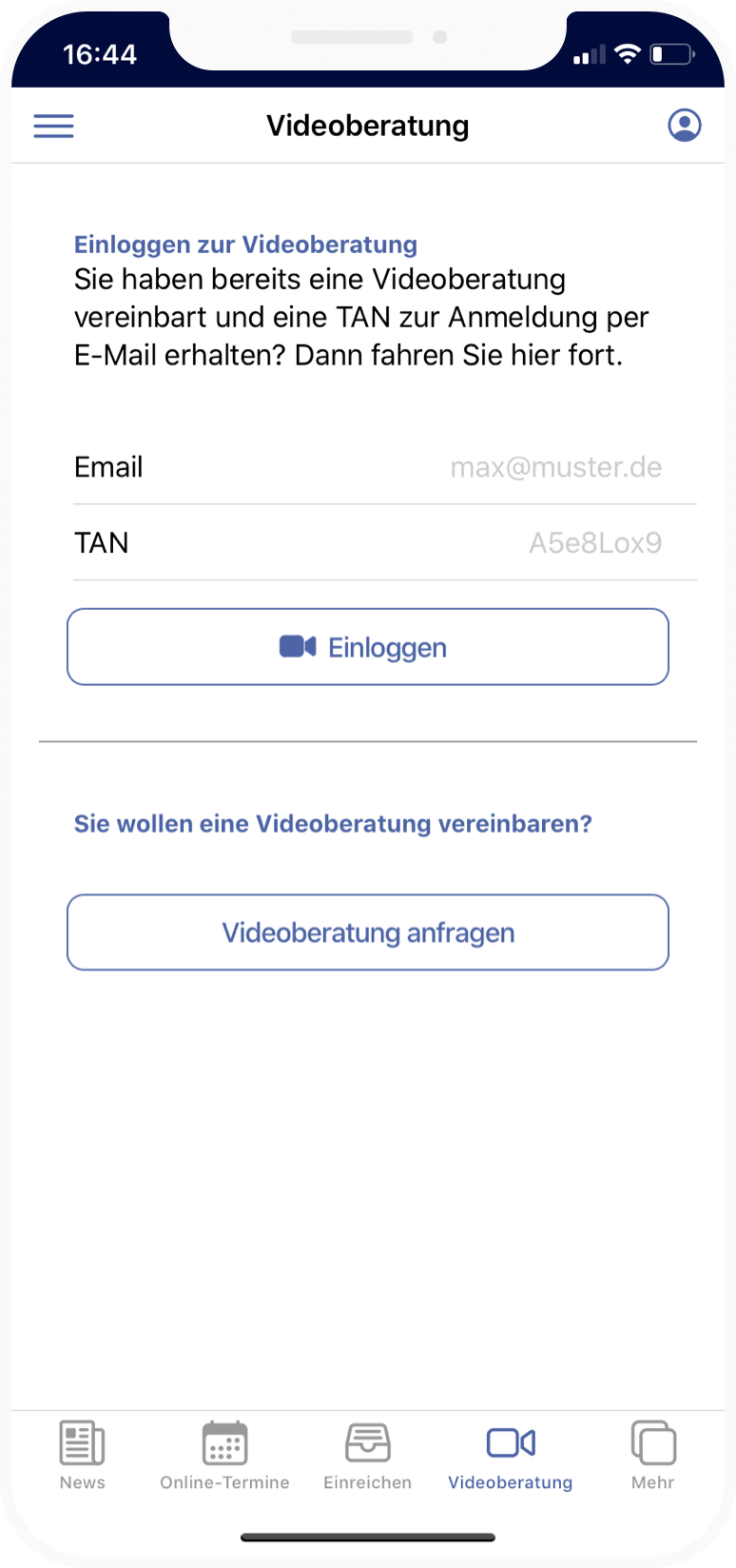 Jobcenter App