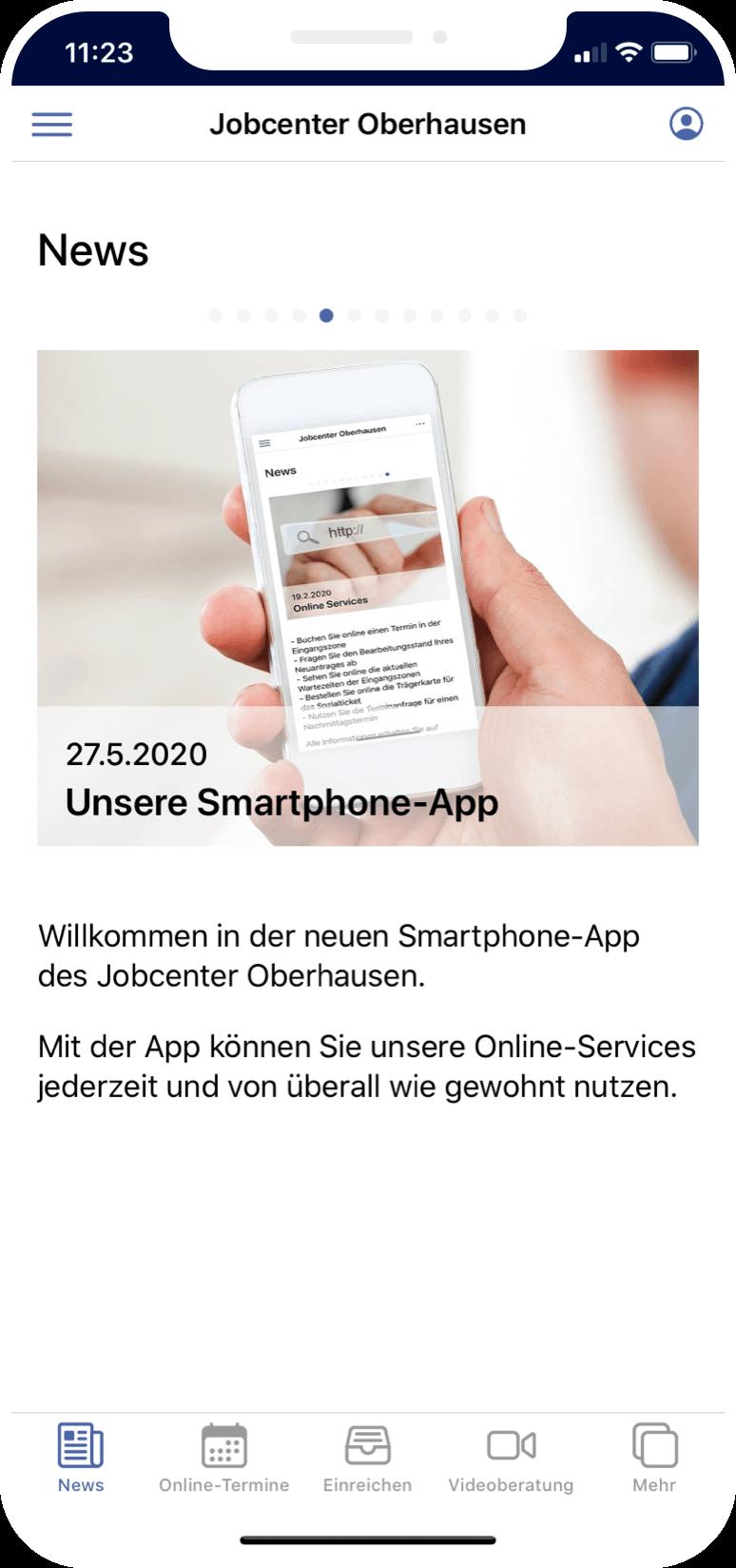 Jobcenter Oberhausen App
