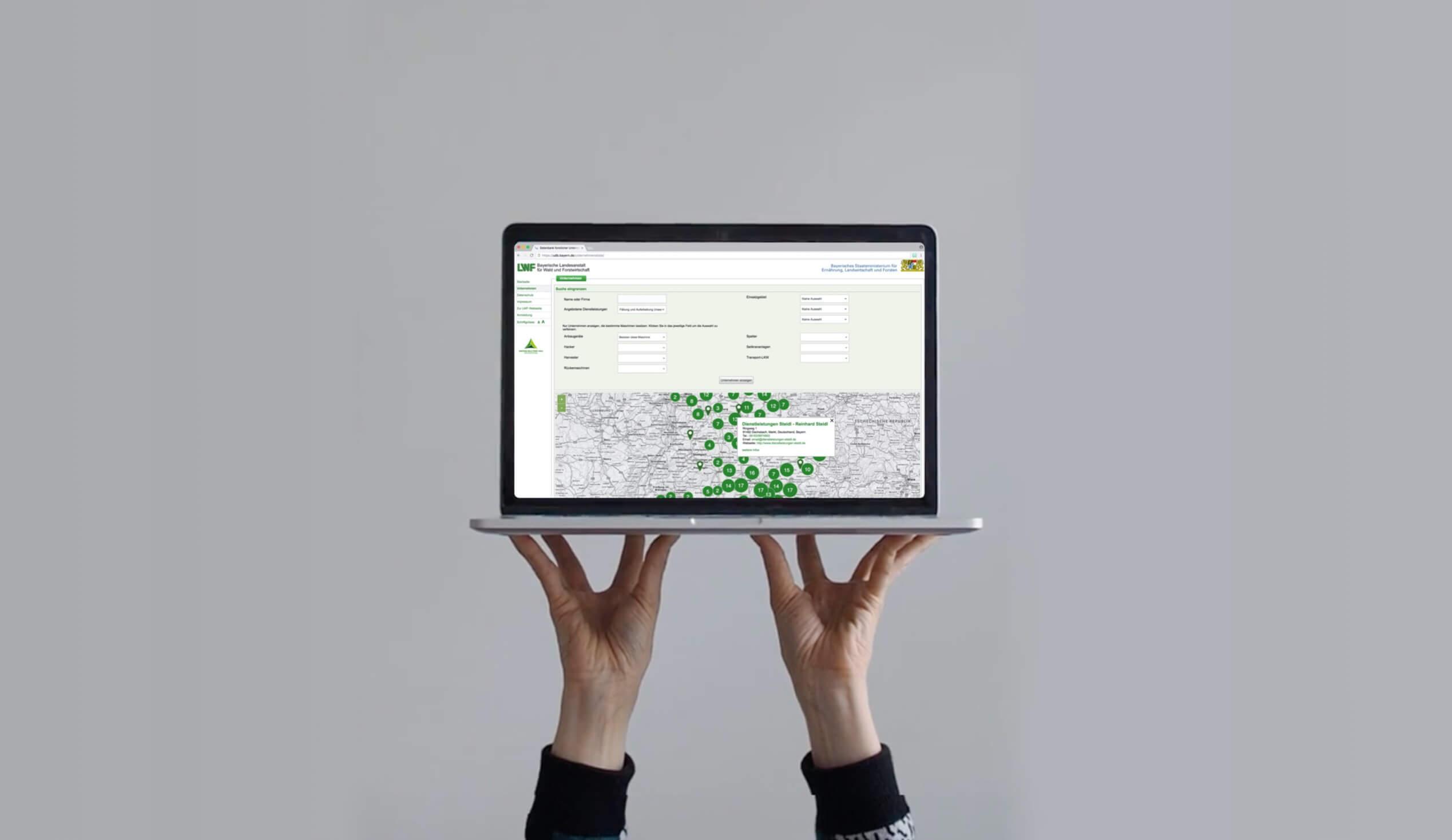 Unternehmerdatenbank