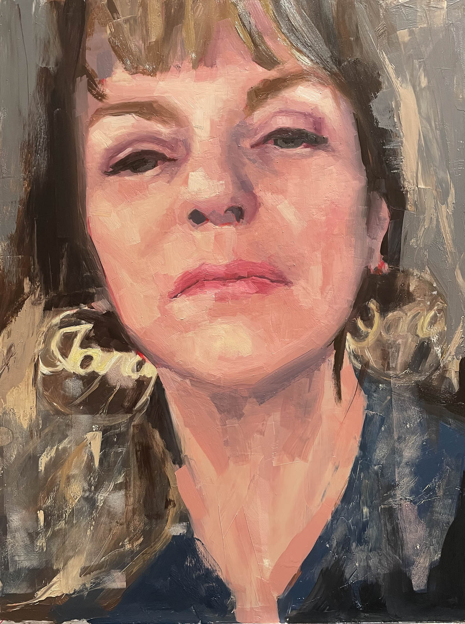 Jana, 2021, Oil on Panel, 20 x 16 inches