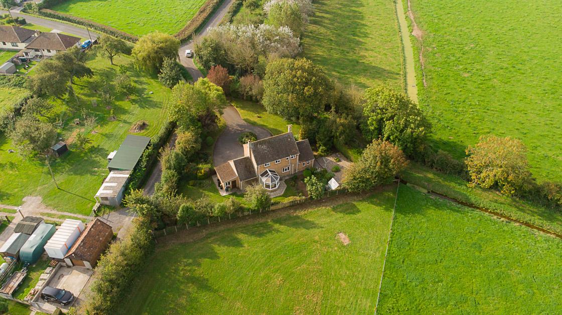 Estate Agency drone photo