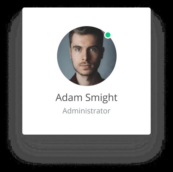 avatar man card