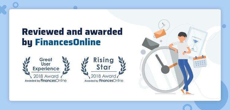 LOOK won two prestigious awards from FinancesOnline