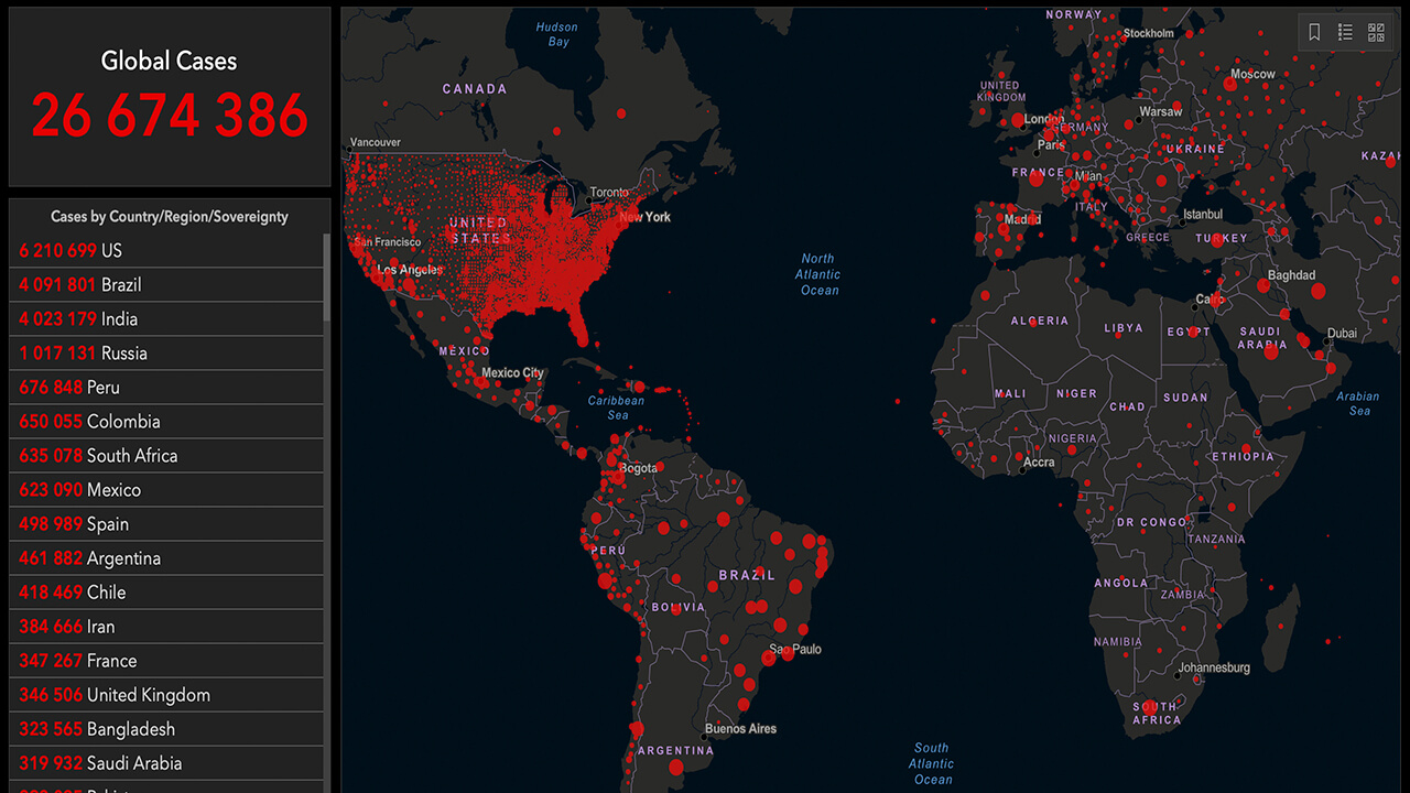 Coronavirus Global Cases