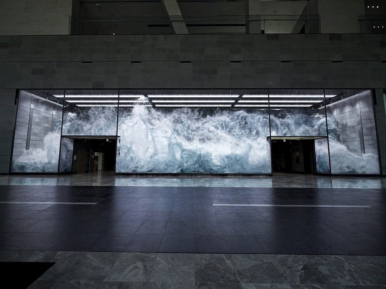 Infinity Wall - Nexen UniverCity, Seoul