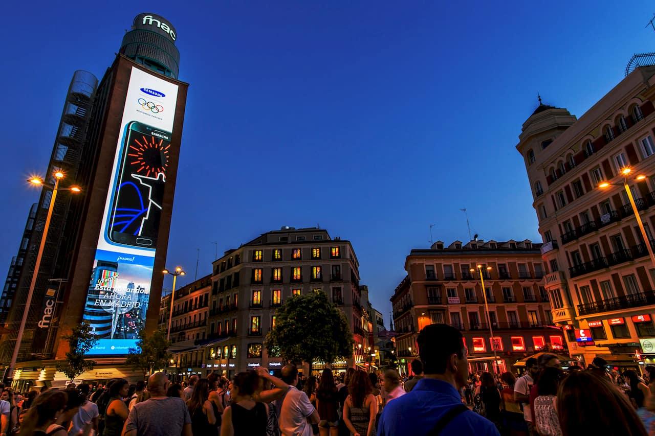 Smart LED Signage - Callao, Madrid