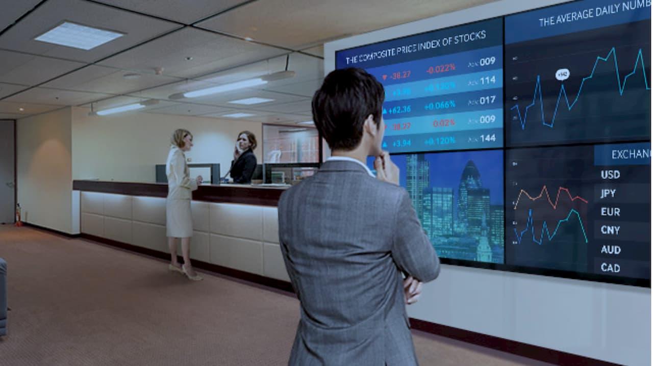 analytics video wall