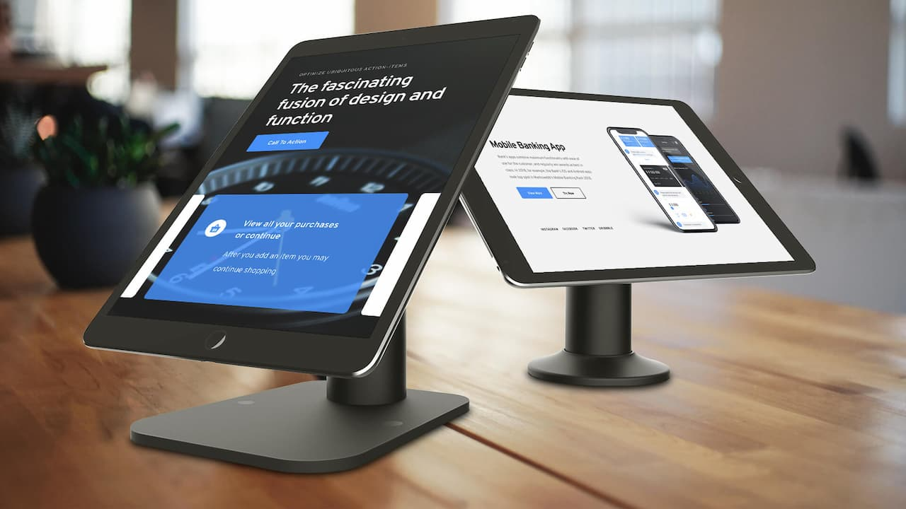 Top 6 Mounts for iPads and Tablets Used as a Digital Signage