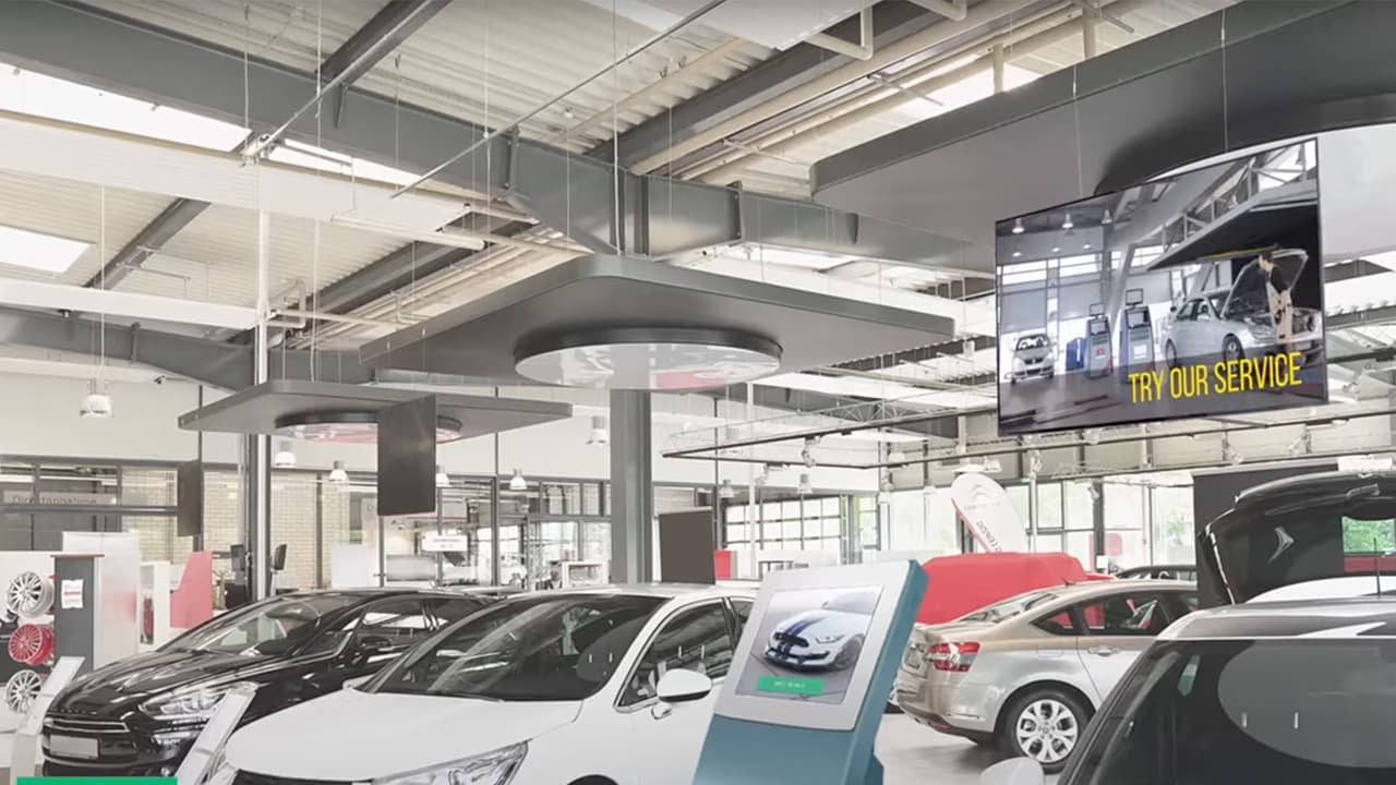 Why Auto Dealers Have to Use Digital Signage?