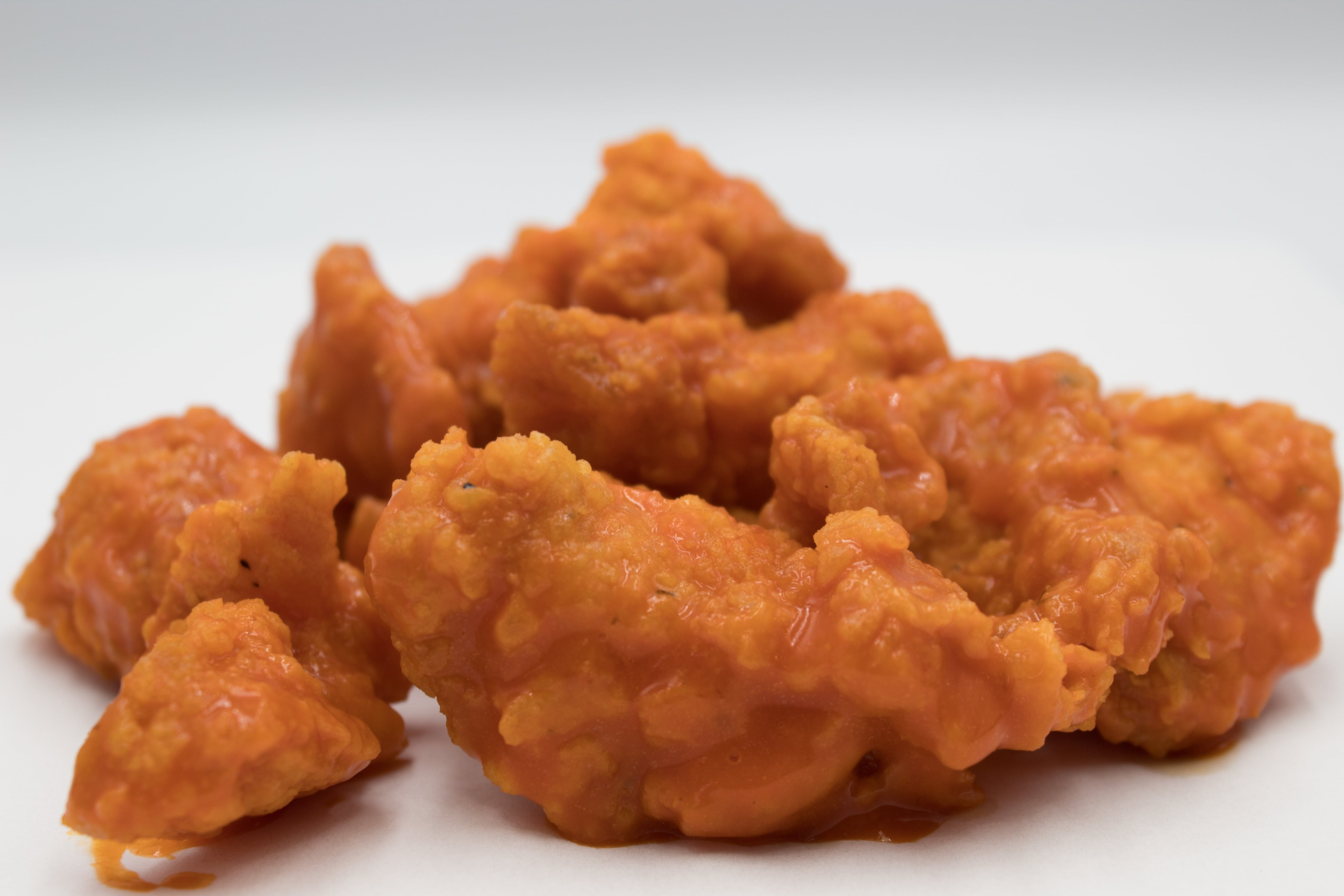 An image of boneless chicken wings as some liars might say