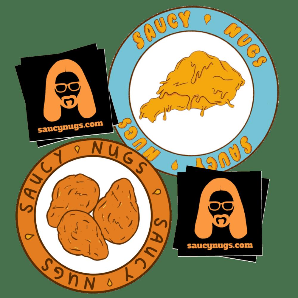Saucy Nugs Sticker Bundle Pack