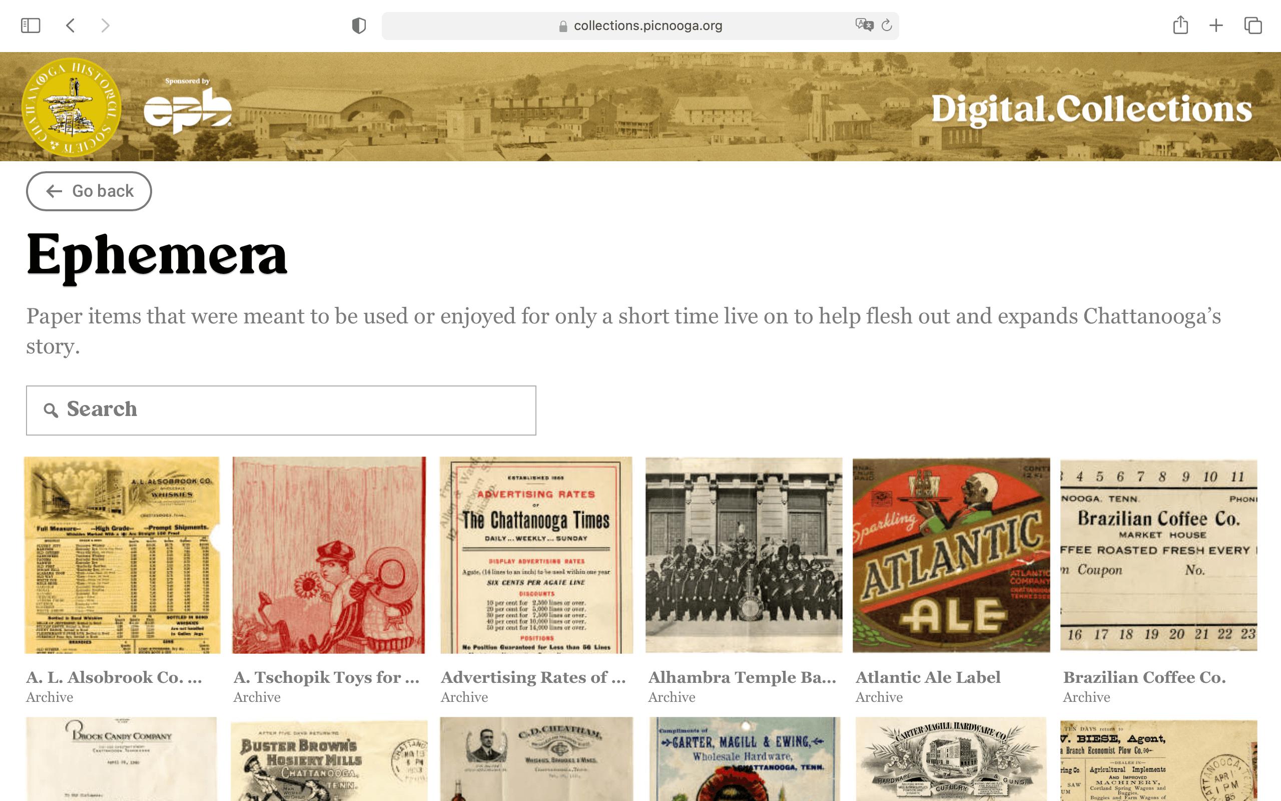 A screenshot of CatalogIt's WordPress plugin running on