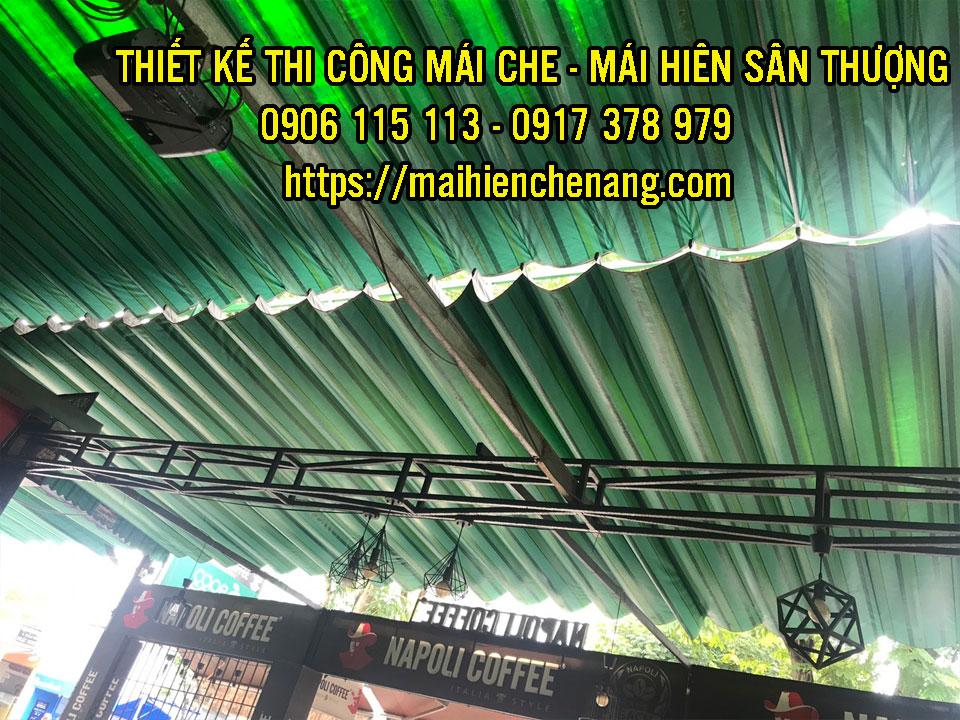 Mẫu Thay lắp đặt mái hiên mái giá rẻ đẹp tại Bình Phước, Mái Bạt Kéo Đồng Xoài Phước Long Bình Phước của Nguyễn Lê Phát