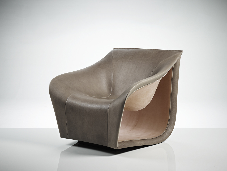 Split Armchair / Light Brown