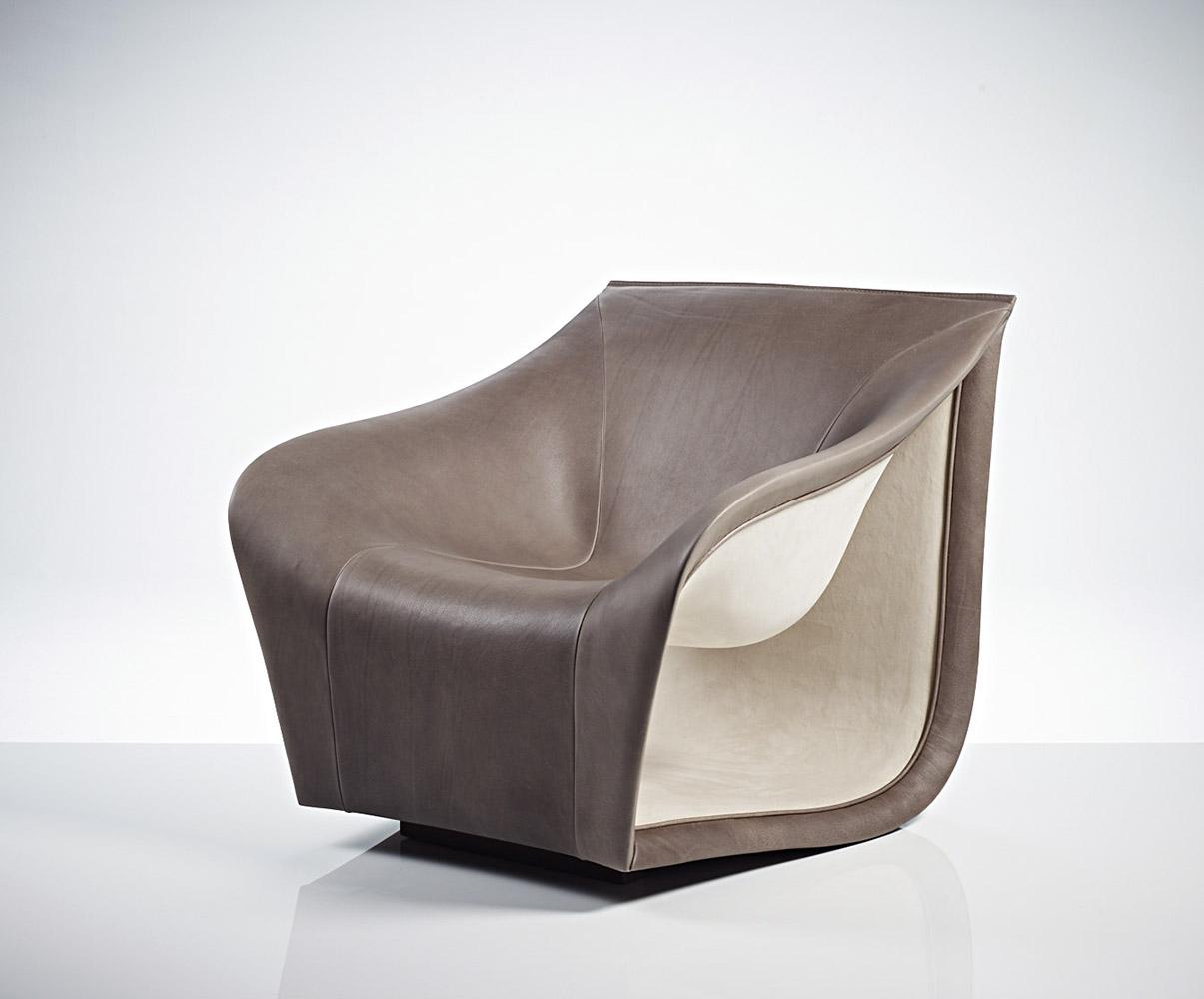Split Armchair / Grey