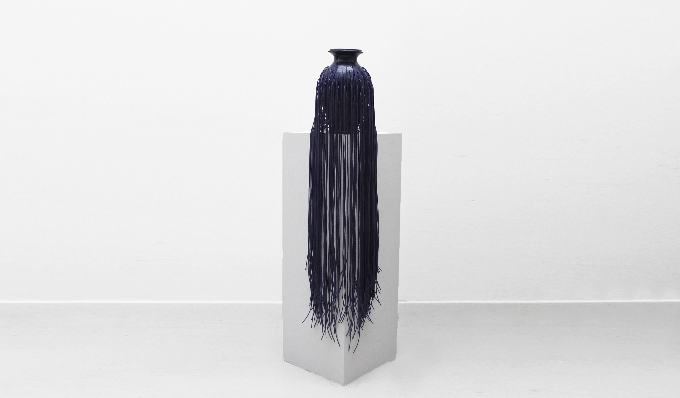Jungle Vase (Purple)