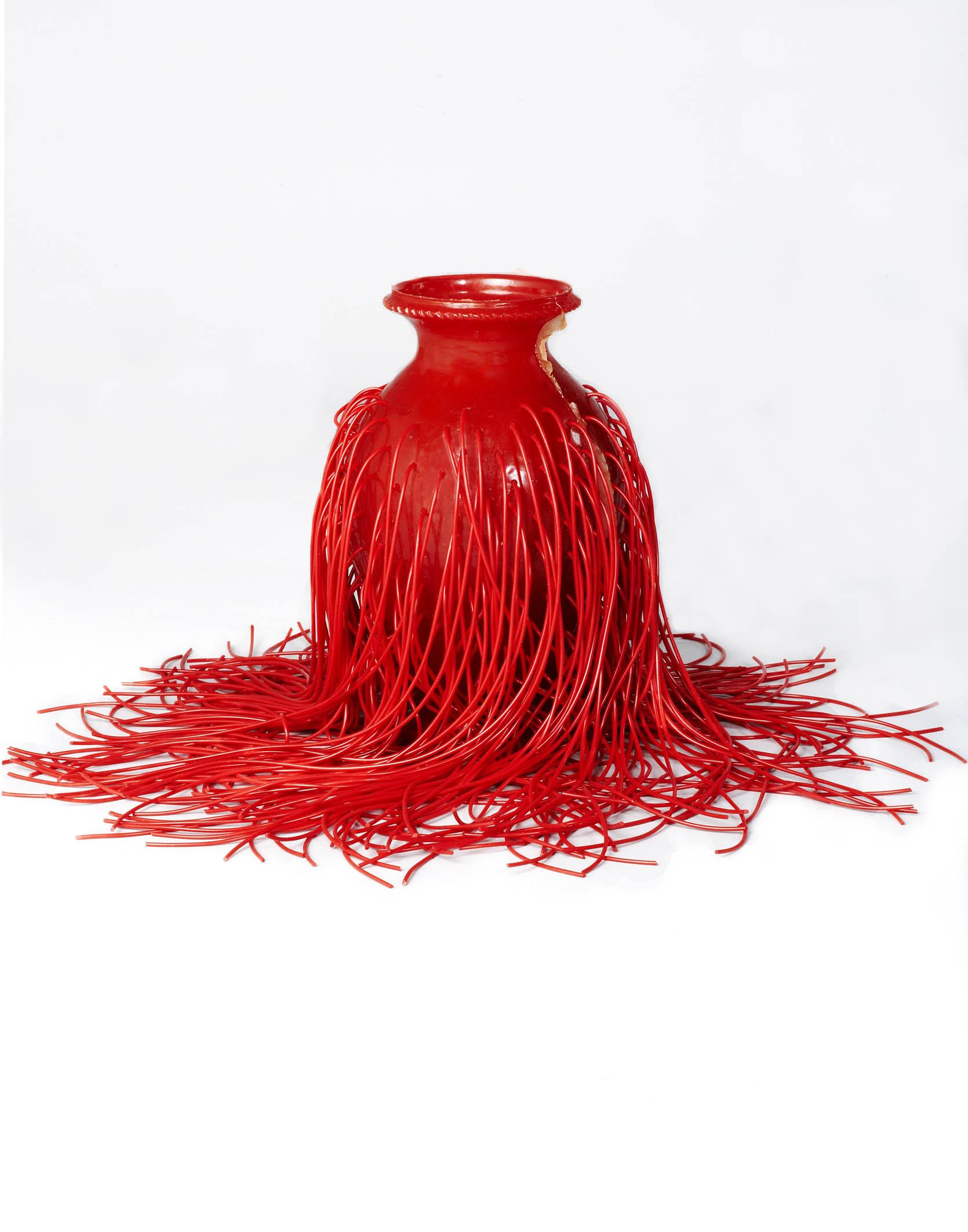 Jungle Vase (Red)