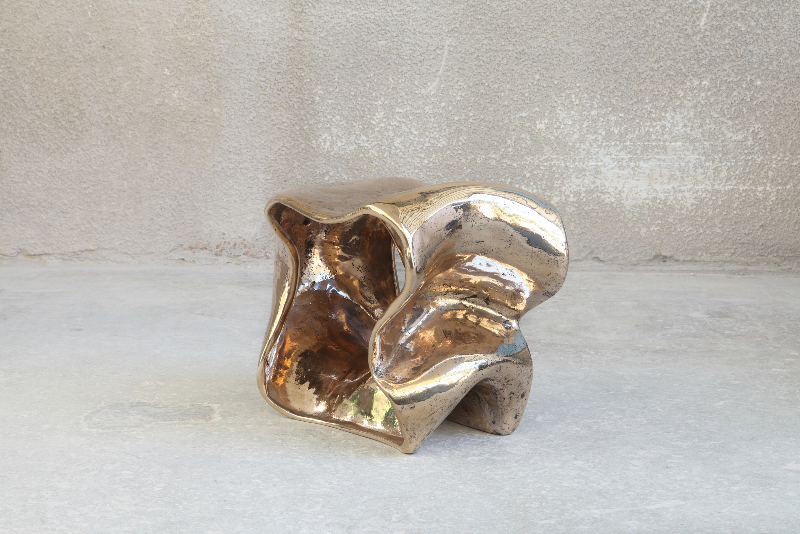 X Stool Bronze