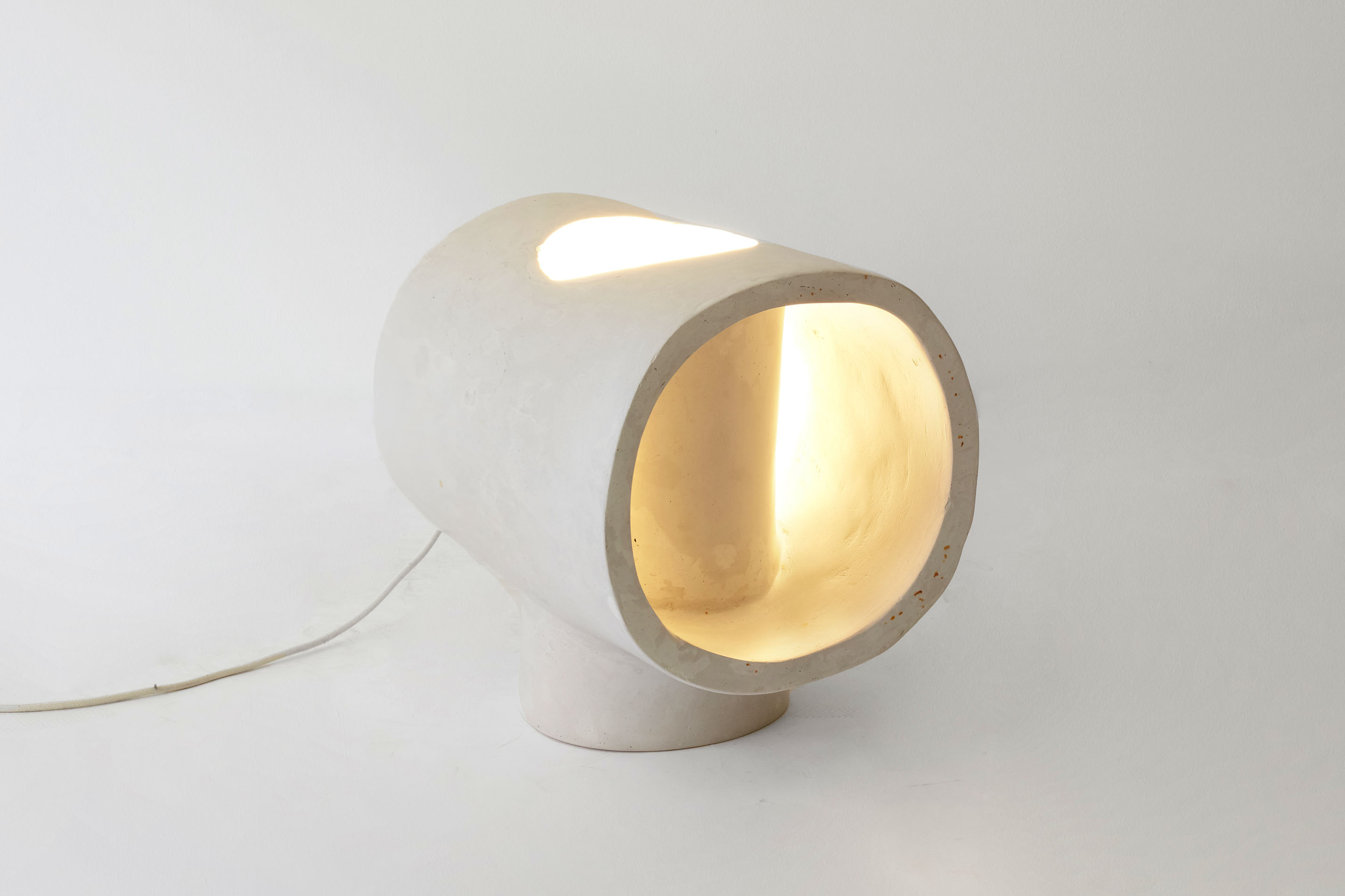 Double Tube Table Lamp